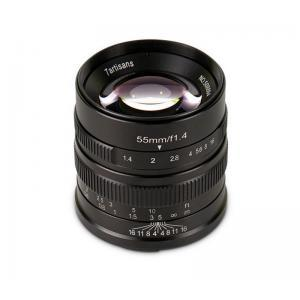 7Artisan 55mm f/1,4 Sony E bajonet - 7ART495243 ()