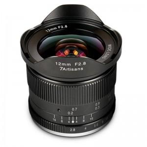 7Artisan 12mm F/2,8 Ultra širokokotnik Canon EF-M - 7ART495359 ()