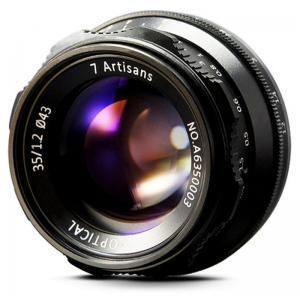 7Artisan 35mm f/1,2 širokokotnik Canon EF-M - 7ART495559 ()