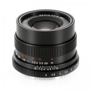 7Artisan 35mm f/2,0 širokokotnik Sony E - 7ART495643 ()