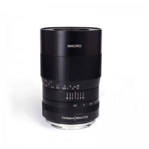 7Artisan 60mm f/2,8 Makro 1:1 Fuji X bajonet - 7ART495756 ()