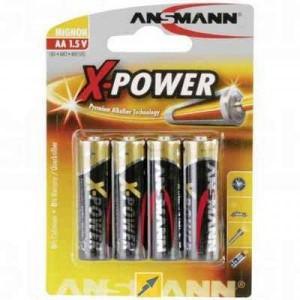 Ansmann Alkaline Mignon X-POWER PREMIUM 4kosi - ANSMANN444003 ()