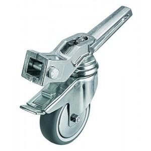 Avenger Set koles z zavoro 100mm srebrn a3 - AVEA9000N (max.nosilnost:do 90kg, teža:3,3kg)