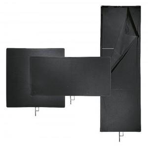 Avenger Senčilo z dvojno črno tkanino, z okvirjem - AVEI1031 (120x120cm)