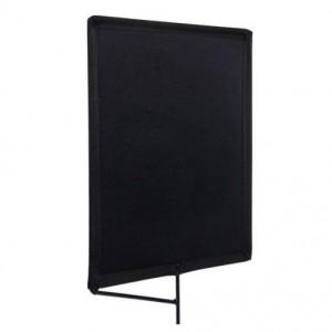 Avenger Solid Black Flag z okvirjem 45x60cm - AVEI650B ()