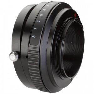 BIG TILT adapter objektiv Nikon F/ohišje Fuji X - BIG421410 ()