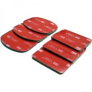 BIG lepilni blazinice za pritrditev GoPro nosilcev - BIG425960 (3x ovalni, 3x kvadratni)