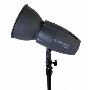 Helios Studijska bliskavica 200E - BIG428042 (200Ws, 75W pilotska žarnica, LED display)