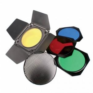 Helios SET barvnih filtrov (4)+ - BIG428106 (vratca, satovje, primeren za standard reflektor)