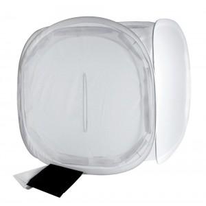 Helios zložljiv difuzni box 40cm - BIG428501 (komplet ozadij črn, bel)