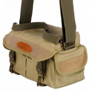 Kalahari foto torba MATA MATA K-12 canvas khaki - BIG440015 (mere: notranje:29x17,5x19/1500g)