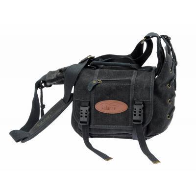 Kalahari foto torba ORAPA K-21 canvas črna - BIG440121 (mere: notranje:19x17x10/650g)