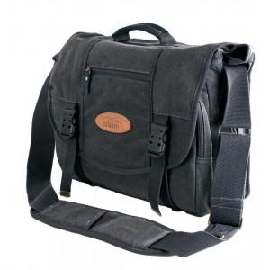 Kalahari foto torba KAPAKO K-35 canvas črna - BIG440135 (mere: notranje:32x23x10-17/1600g)