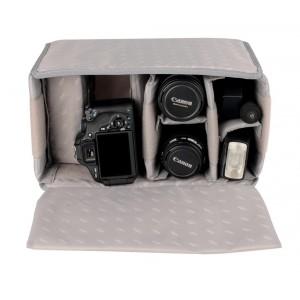 Kalahari vložna torba 17cm za foto torbo KAPAKO - BIG440235 (K-3, mere: 32x23x17)