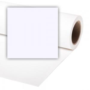Colorama BELA 3,55x15m OZADJE PAPIR - CO882 (teža 13,2kg)