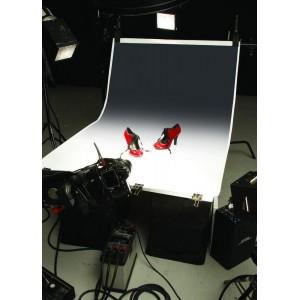 Colorama RAINBOW 1,1x1,7m Črna/Bela - COGRAD301 ()