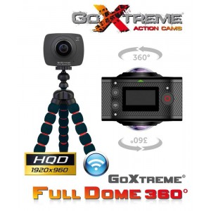GoXtreme Action kamera FullDome 360 Panorama & VR - GOXTREME20134 (+ VR očala)