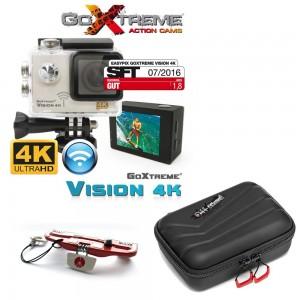 GoXtreme Action kamera Vision 4K Ultra HD + - GOXTREME_1 (off road torbica + namizno stojalce)