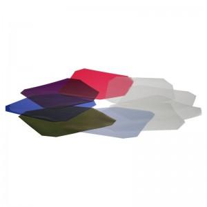 Hensel barvni (6) in difuzni (4) filterski set - HENSEL1790 ()