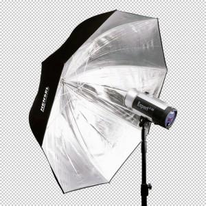 Hensel Master PXL srebrn dežnik 135cm - HENSEL4821619 ()