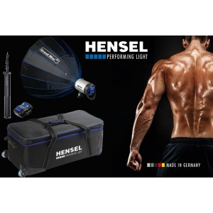 Hensel INTEGRA Plus 500 Freemask kit - HENSEL500PLUS (Integra Plus 500FM+300W žarnica,Grand Mini 85 box,)