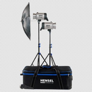 Hensel INTEGRA Plus kit Basic - HENSEL50200 (1x250Ws,1x500ws,2xflood refl.,1xdežnik 3180)
