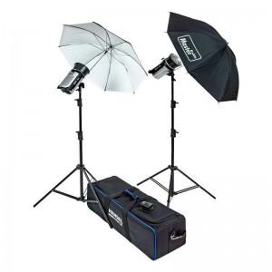 Hensel Certo 200 Basic komplet - HENSEL50218 (2x Certo 200,2x žarnica 150W,2x kabel,2x reflektor)