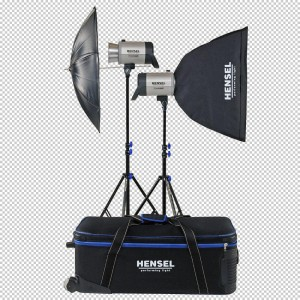 Hensel INTEGRA Plus kit Advanced - HENSEL50300 (2xIntegra 500Ws,1xflood refl.,1xdežnik 3180)