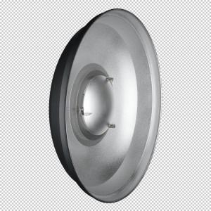 Hensel 56cm ACS Beauty Dish EH reflektor - HENSEL8608 (SREBRN VII, z nosilcem filtrov in možnost 18cm ali)