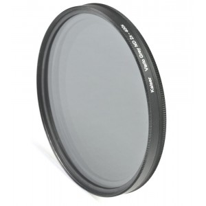 Kaiser Vario Siv filter ND2x do ND400x 58mm - KAISER15458 (torbica + micro fibre čistilna krpica,)