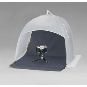 Kaiser Dome-Studio 75x75cm, višina 65cm - KAISER5892 (zložljiv prenosni mini studio, obračljivo ozadje)