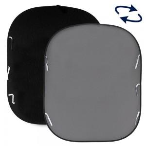 Lastolite 1.8x2.15m Črn/sr.Siv - LASTOLB67GB (zložljiv/obračljiv)