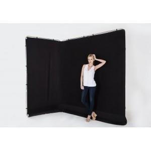 Lastolite PANORAMIC BACKGROUND 4x2,3m - LASTOLB7621 (zložljivo ogrodje + tekstilno ozadje črno)