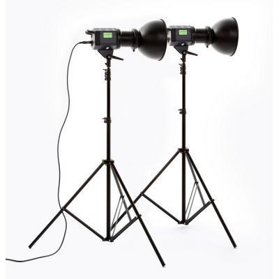 Lastolite RayD8 c5600 kit - LASTOLR8035EU (2x luč (ohišje), 2x reflektor 25cm, 2x žarnica 85W)