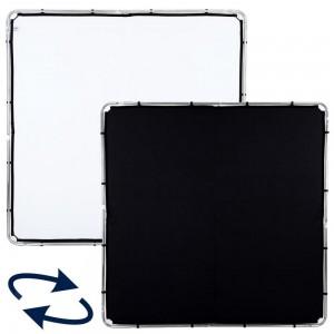 Lastolite SKYLITE Rapid 2x2m Črn/Bel - LASTOLR82221R ()