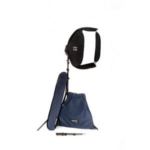 Lastolite Ezybox hotshoe kit 38X38cm - LASTOLS2470 (Ezybox, stojalo, podaljševalna ročica, torba)