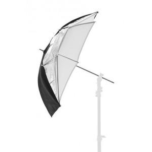 Lastolite dežnik DUAL 84,5cm  Črn/Srebrn/Bel - LASTOLU3223F ()