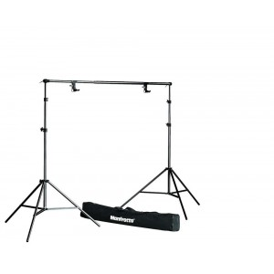 Manfrotto 1314B SET 2x stojalo max.237cm - MAN1314B (teleskopska prečka (112 do 298cm)+)