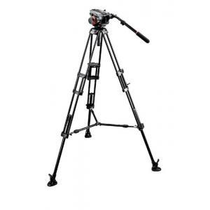 Manfrotto 504HD video glava + - MAN504HD546BK (546B Video PRO stojalo + torba MBAG100PN)