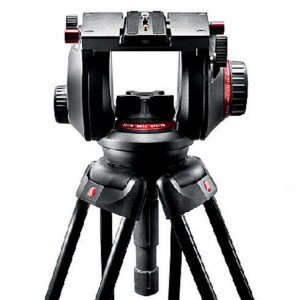 Manfrotto 509HD Pro Fluid Video glava, - MAN509HD (100mm polkrogla, 509PLONG)