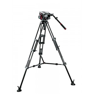 Manfrotto 509HD video glava + - MAN509HD545BK (545B Video PRO stojalo + prenosna torba)
