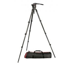 Manfrotto 526 Pro Fluid video glava + - MAN526,536K-1 (stojalo karbon 536 + MBAG100PN)
