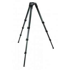 Manfrotto carbon Video stojalo 75/100mm, - MAN536 (nosilnost max.:25kg, višina max.:203cm)