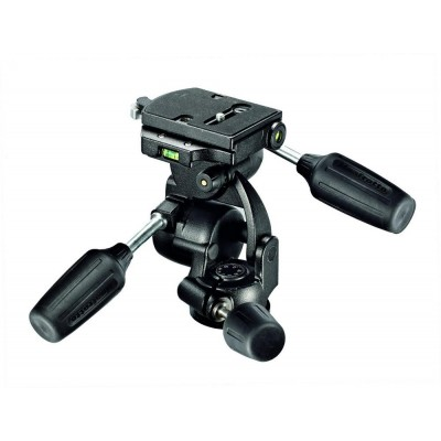 Manfrotto 808 STANDARD 3-WAY GLAVA RC4 - MAN808RC4 (max.nos.:8kg, teža:1,4kg, višina 15,6cm,)