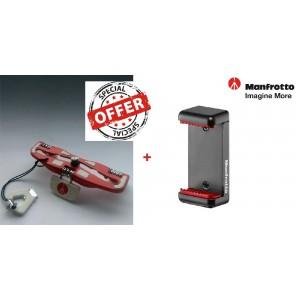 Manfrotto Smartphone nosilec + MP3-DWR DSLR podsta - MCLAMP_3 ()