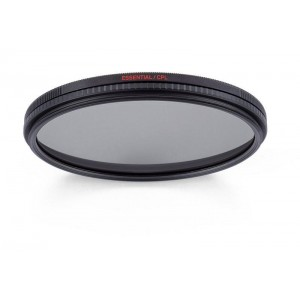 Manfrotto Essential Cir.Polar.filter 55mm - MFESSCPL-55 ()