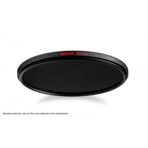 Manfrotto ND 500 filter 55mm - MFND500-55 (2,7 - 9 STOP)