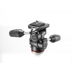 Manfrotto 804 3Way GLAVA z RC2 - MH804-3W (max.nos.:4kg, teža:0,5kg, višina:12cm,)