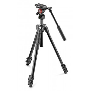 Manfrotto 290 LIGHT ALU Video komplet - MK290LTA3-V (z video fluid glavo Befree LIVE)