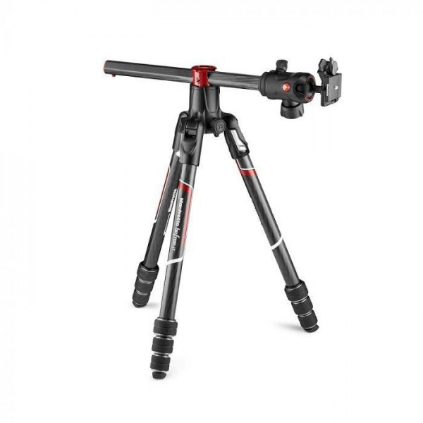 Manfrotto BeFree GT XPRO Karbon stojalo ČRN - MKBFRC4GTXPBH (z glavo RC2 Quick release)